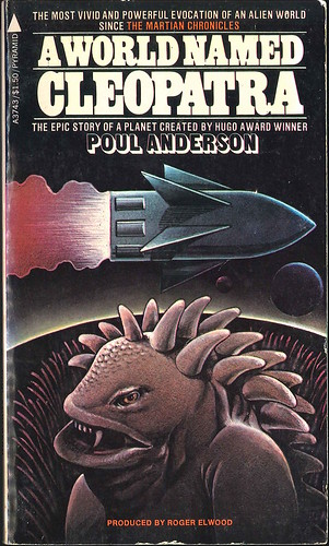 Anthology (Poul Anderson, and others) A World Named Cleopatra (1977 - Pyramid Books) uncredited cover