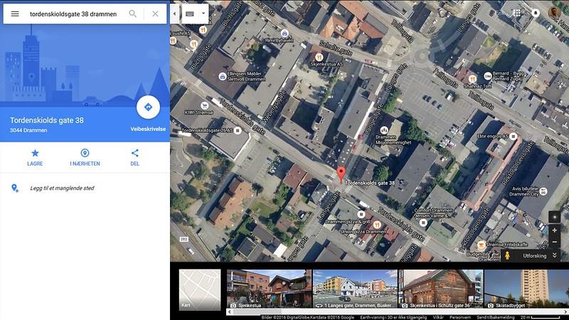 google maps tordenskioldsgate 36