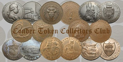 Conder Token Collectors Club logo masthead