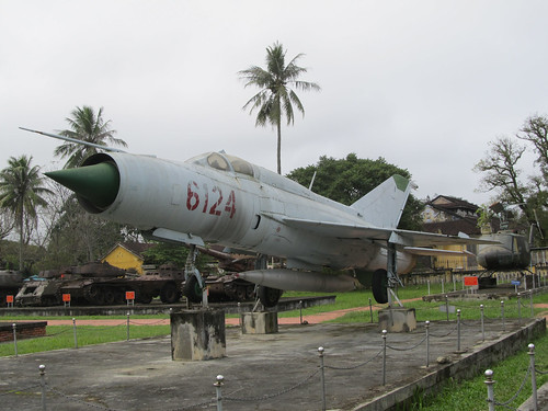 Hué: avion miltaire vietnamien