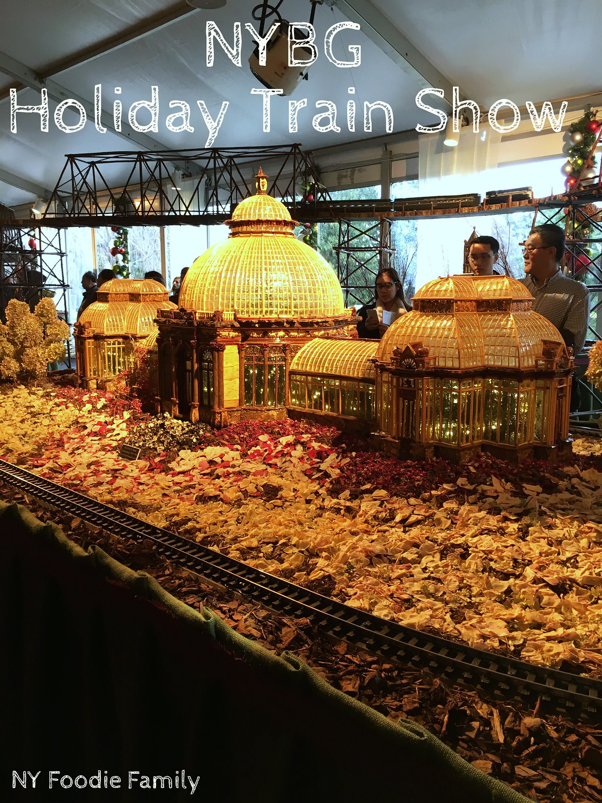 NYC Family Fun: New York Botanical Garden Holiday Train Show - NY ...