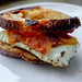 Homemade Bacon, Egg and Cheese sandwich by Premshree Pillai