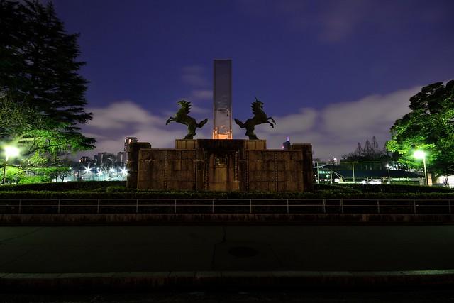 明治神宮外苑の麒麟1