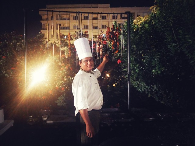 Chef At Work (Indian Grills)