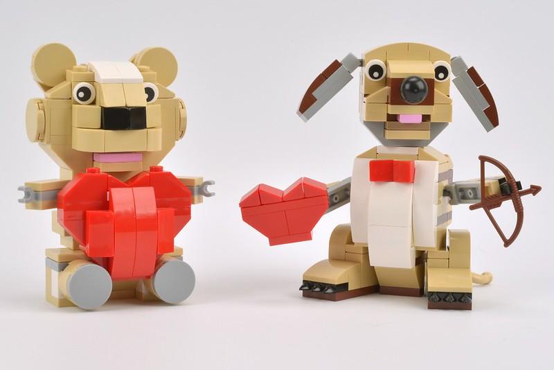 40201 Valentines Cupid Dog