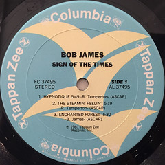 BOB JAMES:SIGN OF THE TIMES(LABEL SIDE-A)
