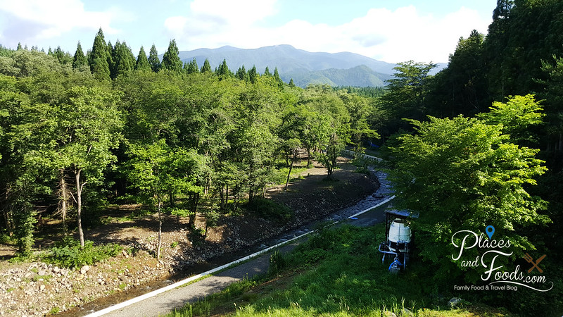 Hotel Mori no Kaze Tazawako view