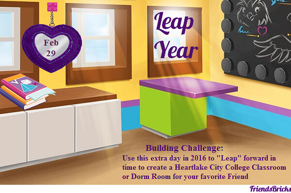 Leap Year Building Challenge