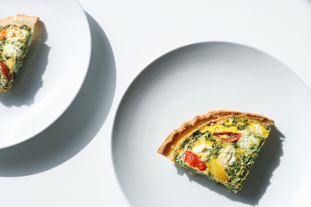 kale & goat cheese quiche 7