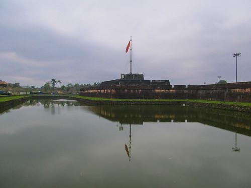 Citadelle de Hué: la Tour du Drapeau