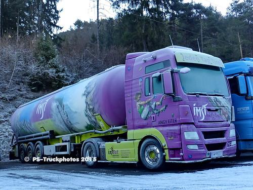 MAN TGX XXL - IM-FELS1 - Silo-Melmer - A - Airbrush - Pitztal Tirol PS-Truckphotos