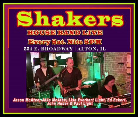 Shakers Saturday Nite