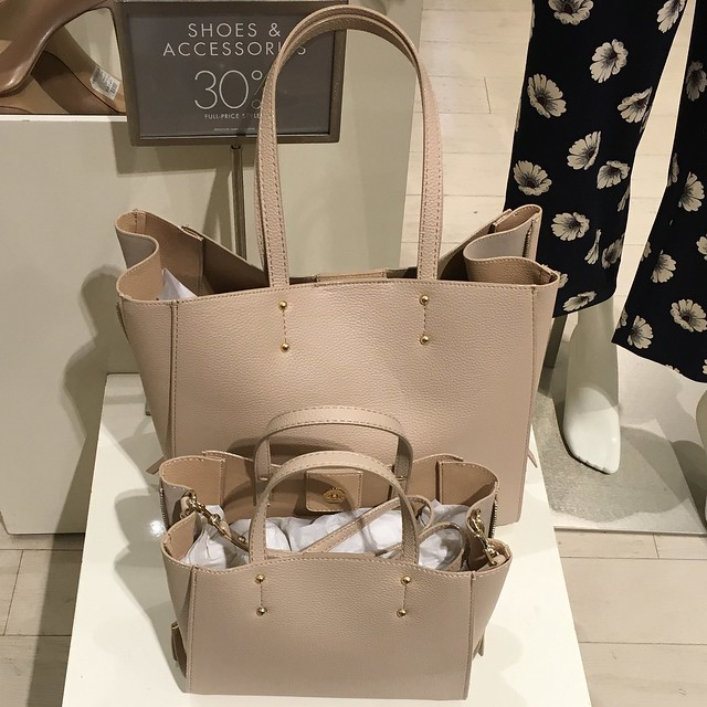 Spring 2016 - Ann Taylor Signature Large Tote and Signature Crossbody Tote