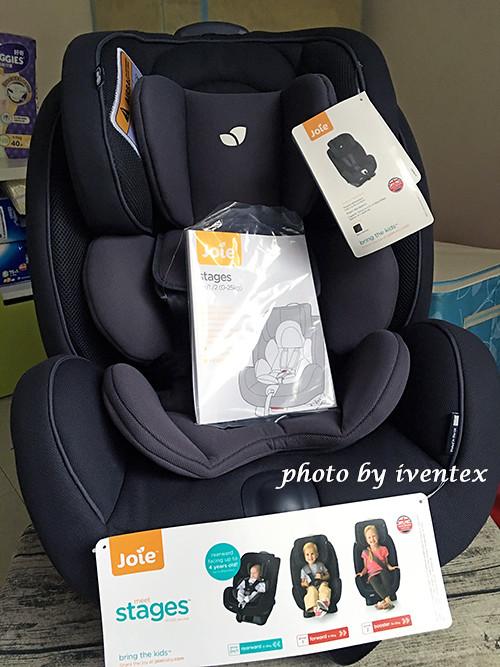 22刀口力懷孕嬰兒用品採買joie0-7歲成長型汽車座椅