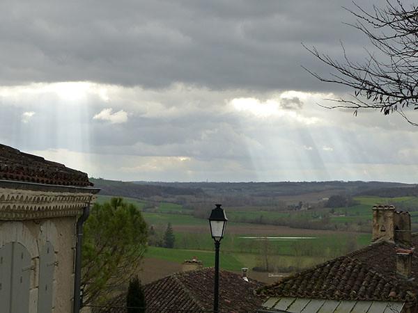 pluie et lumière