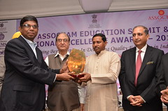 Receving Excellence Award