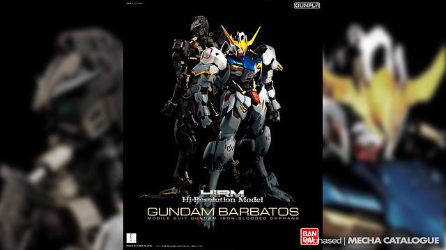 Hi-Resolution Model 1/100 Gundam Barbatos - Box Art