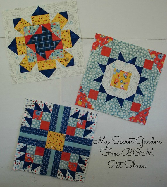 Pat Sloan the Secret Garden Block all the monami blocks