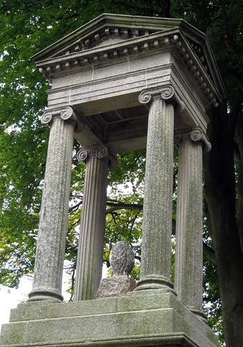 Glasnevin, a historical Victorian Cemetery in Dublin, Ireland