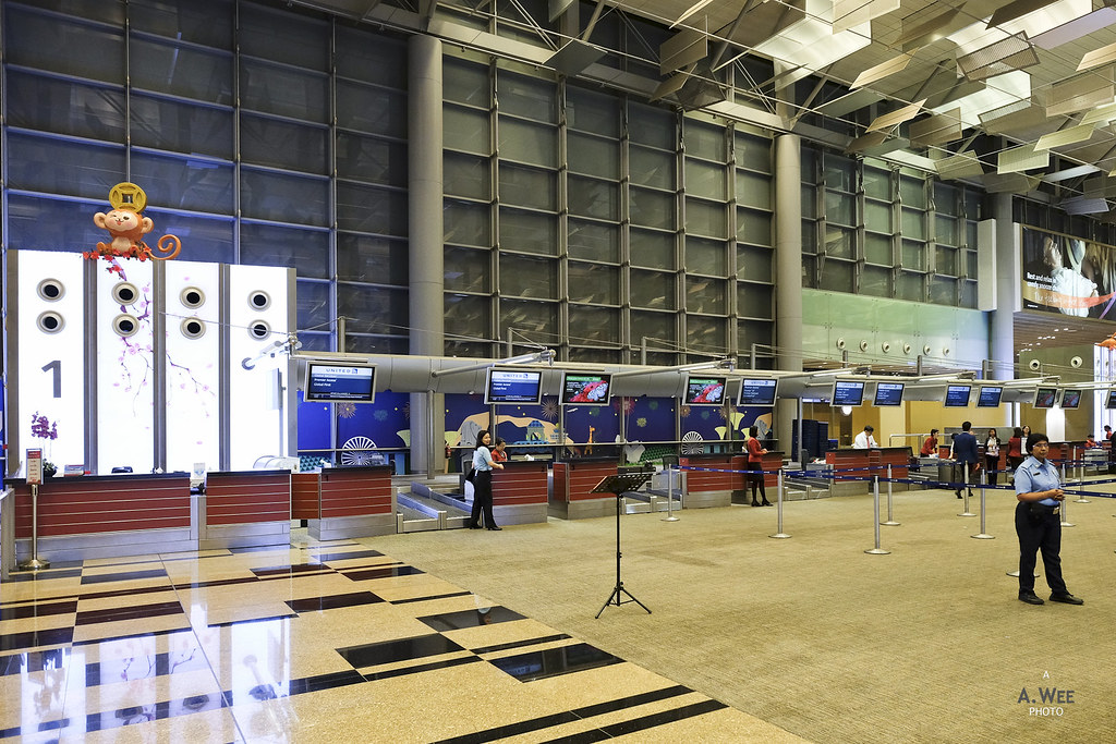 First Check-in Counters