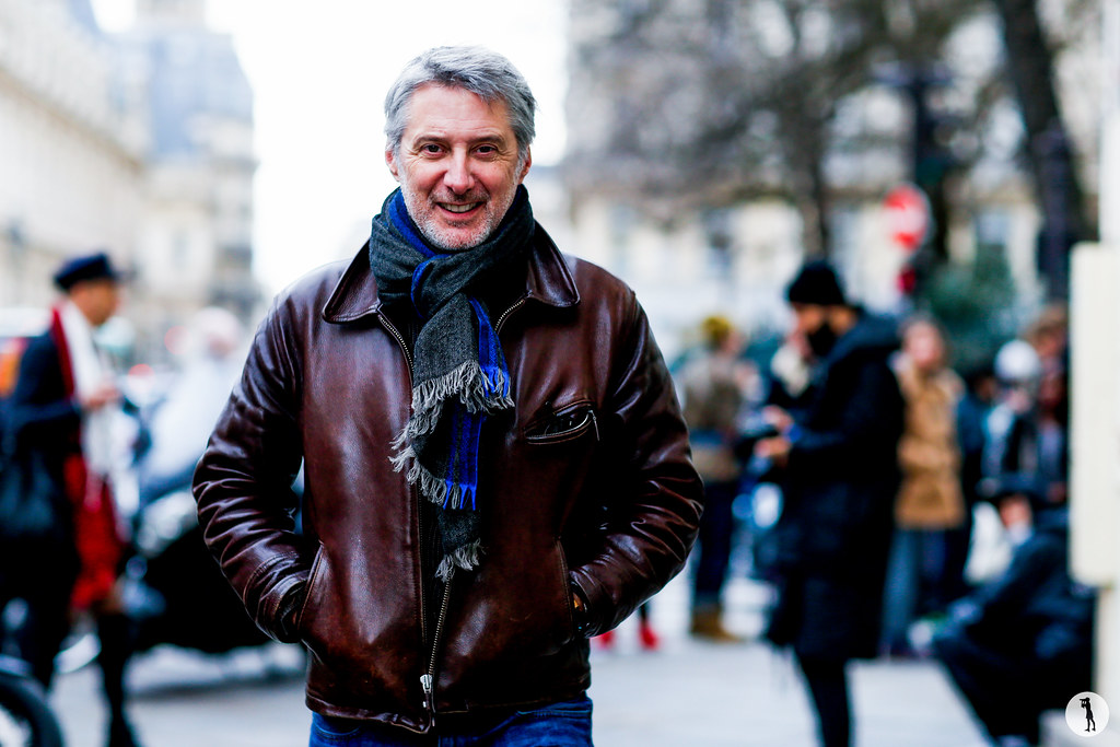 Antoine de Caunes at Paris Fashion Week Haute Couture