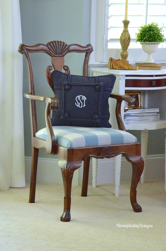 Master Bedroom Chair - Housepitality Designs