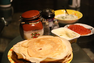 Shrove Tuesday Russian Style