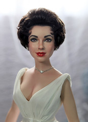 Elizabeth Taylor in Cat on a Hot Tin Roof, Franklin Mint