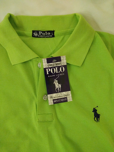 Eric's new 'Polo' shirt!