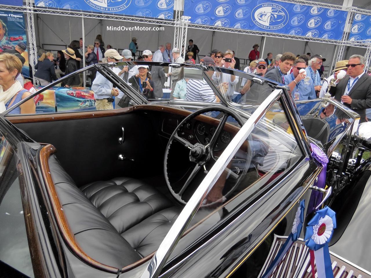 1930 Rolls-Royce Phantom II Front Interior