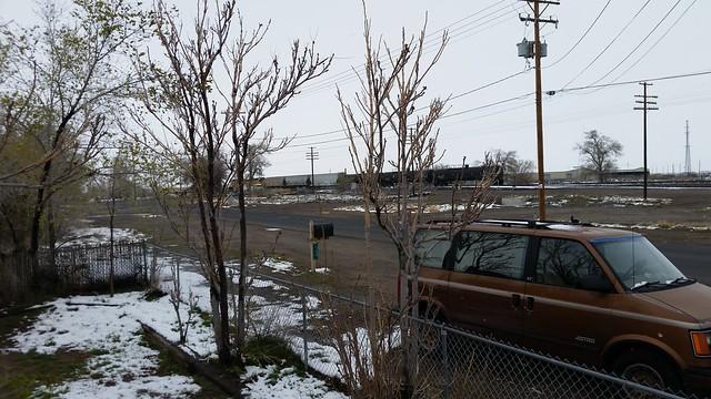 Railroads in the Snow