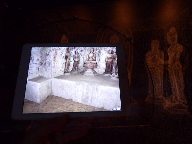 Pure land: inside the Mogao Grottoes at Dunhuang, an augmented-reality installation