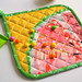 Watermelon Potholder by easypatchwork