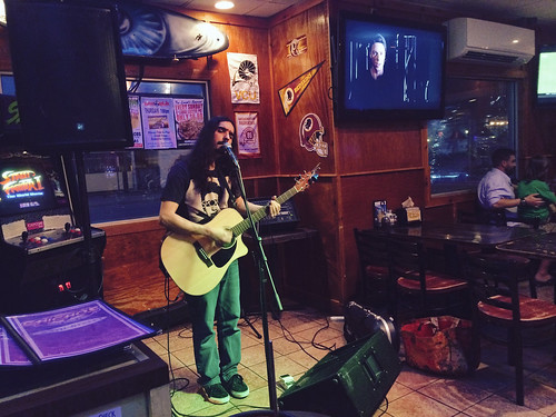 Mike Gombas at Chicho's (April 6 2015)