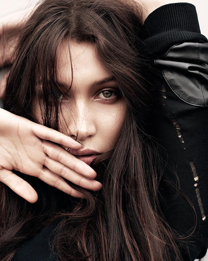 Белла Хадид — Фотосессия для «Glamour» DE 2016 – 1