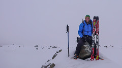 Tomek na przełęczy Passo Marinelli Occidentale 3022m.