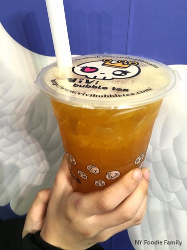 Vivi bubble tea - Peach Ice Jelly