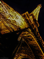 Eiffel tower by night!