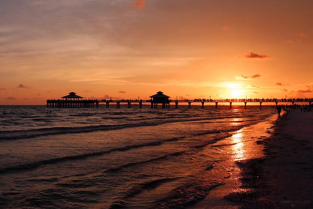 Fort Myers Beach Pier - Florida