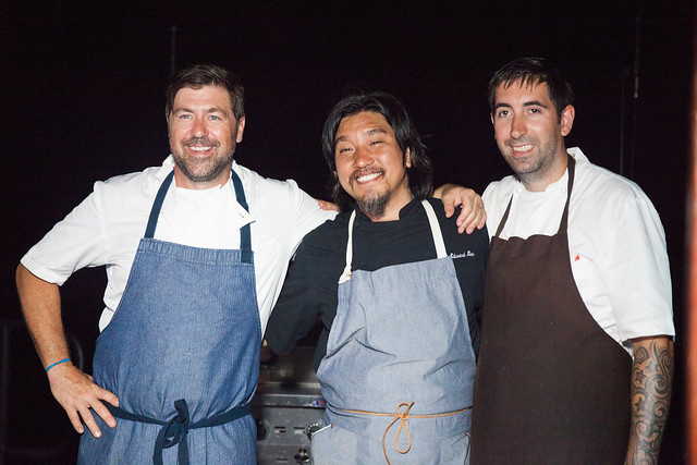 Chefs Mike Lata, Edward Lee and Will  O'Hara