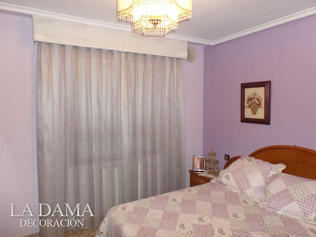 Fotograf As De Volantes Y Bandos La Dama Decoraci N ~ Cortinas Para Dormitorio Principal