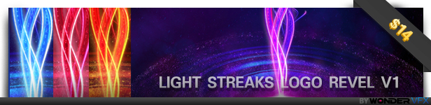 Light Streaks Logo Revel V1