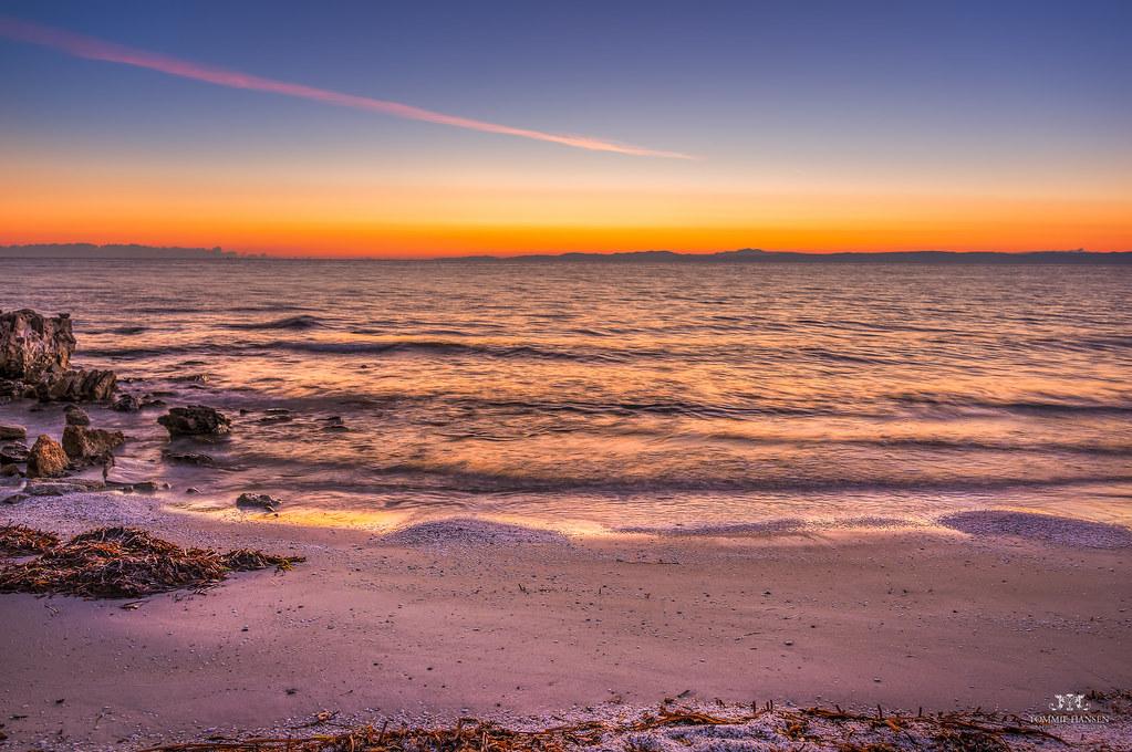 Sunrise at Spiaggia delle Saline Beach, Stintino (Sardinia, Italy)