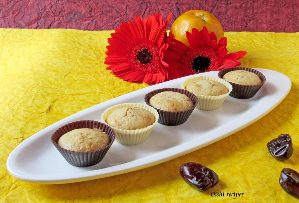 Orange date muffins 4