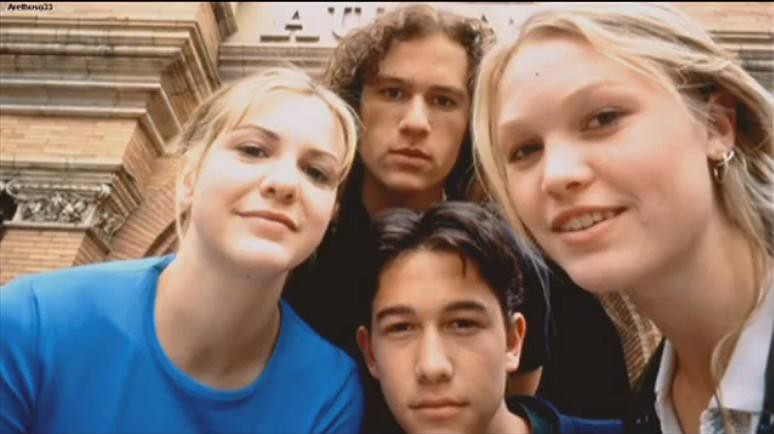 10 Things I Hate About You 1999 Quote About Word: Heath Ledger, Joseph Gordon-Levitt, Julia Stiles And