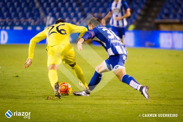 Temporada 15/16. Jornada 18ª. R.C.Deportivo 1 - Villarreal 2