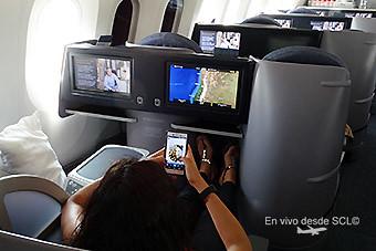 United B787-9 conectividad wifi (RD)