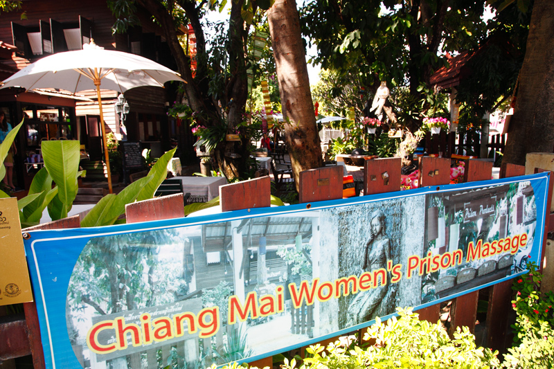 Chiang Mai Women's Prison Massage