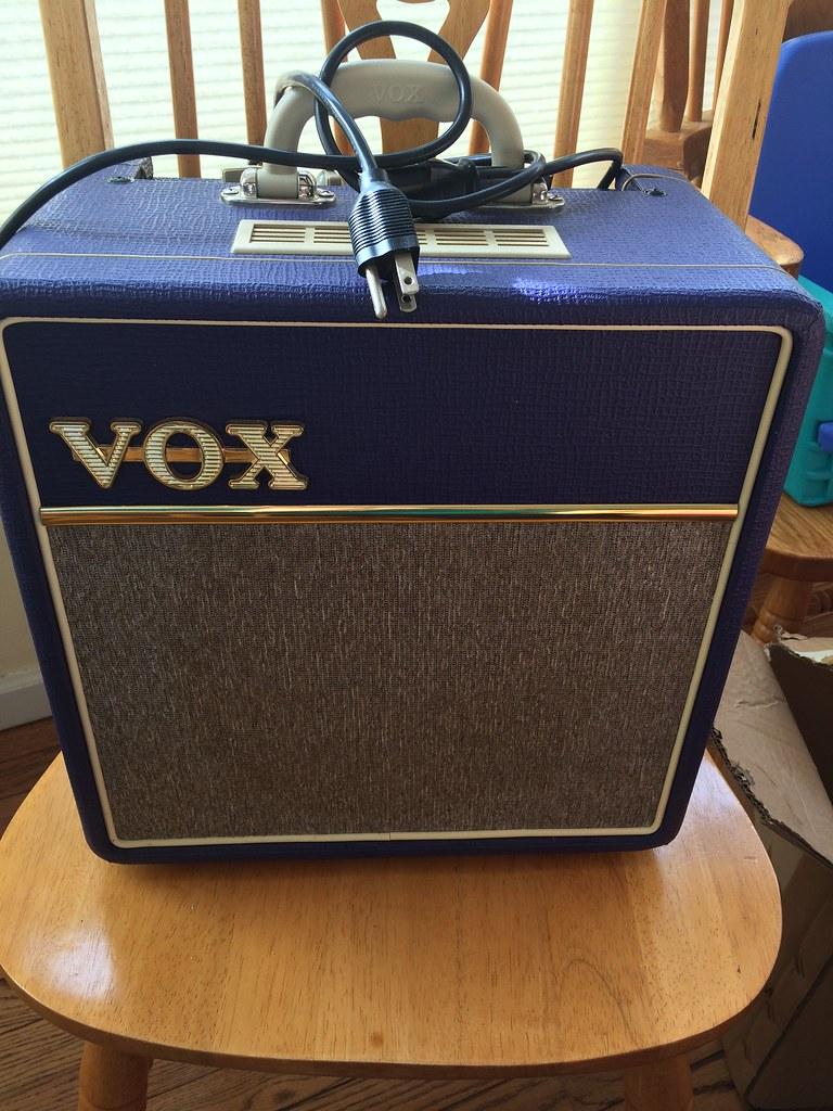 Amps - Purple 4 Watt Vox | Blues Guitar Unleashed Member Forum