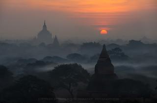 View from Shwegu Gyi Phaya